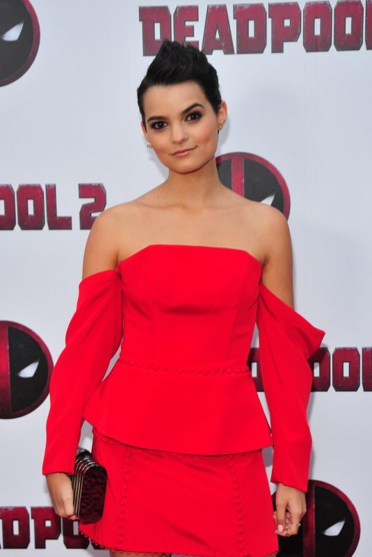BRIANNA HILDEBRAND at Deadpool 2 Special Screening in New York 05/14/2018