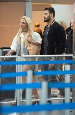 BRITNEY SPEARS at JFK Airport in New York 05/13/2018