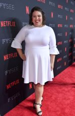 BRITNEY YOUNG at Netflix FYSee Kick-off Event in Los Angeles 05/06/2018