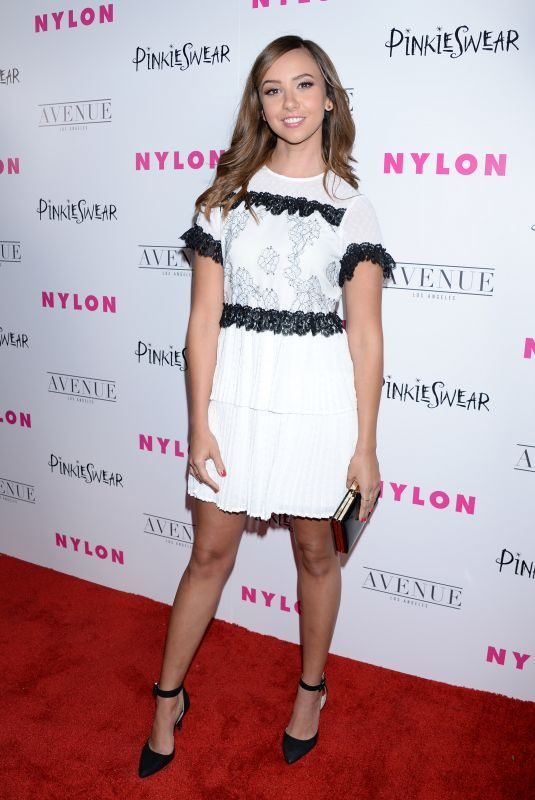 BRITT BARON at Nylon Young Hollywood Party in Hollywood 05/22/2018