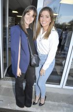 BROOKE VINCENT and NIKKI SANDERSON at Ssangyong Fun-motor Group Car Showroom Launch in Blackburn 04/30/2018