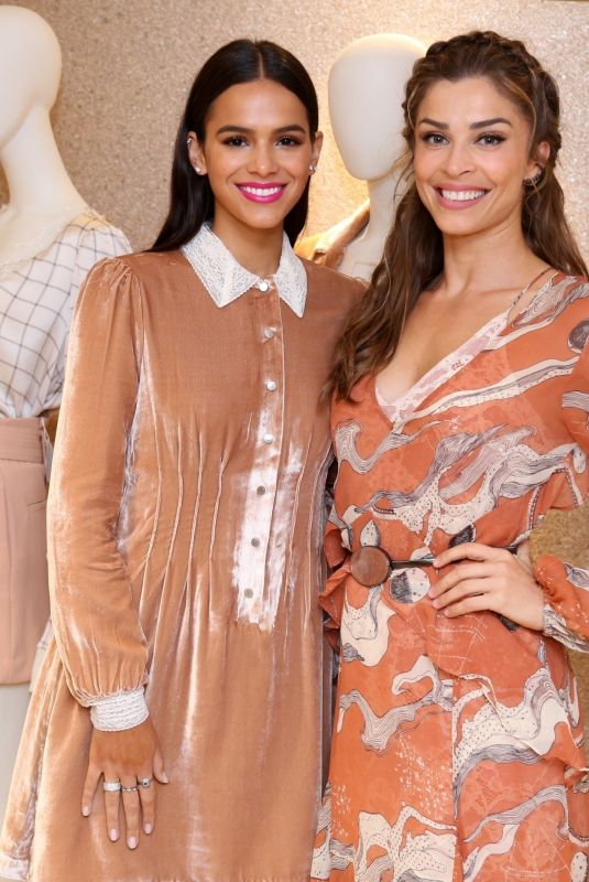 BRUNA MARQUEZINE and GRAZI MASSAFERA at Le Lis Blanc Collection Launch in Rio De Janeiro 05/10/2018