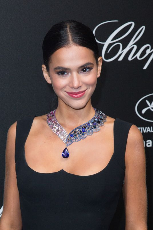 BRUNA MARQUEZINE at Secret Chopard Party at 71st Cannes Film Festival 05/11/2018