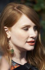 BRYCE DALLAS HOWARD at Jurassic World: Fallen Kingdom Premiere in Madrid 05/21/2018