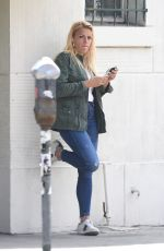 BUSY PHILIPPS at a Coffee Shop in Los Angeles 05/29/2018