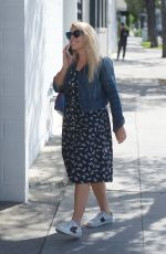BUSY PHILIPPS Out for Lunch at Mauro Cafe in West Hollywood 05/10/2018
