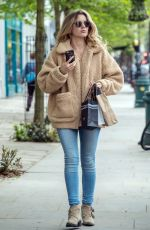CAGGIE DUNLOP Out and About in London 05/03/2018