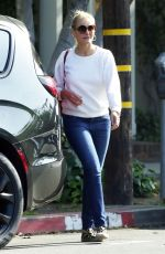 CAMERON DIAZ Out in Los Angeles 05/22/2018