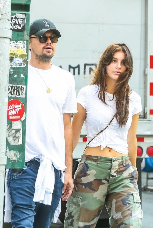 CAMILA MORRONE and Leonardo Dicaprio Out in New York 05/15/2018