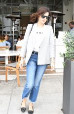 CAMILLA BELLE Leaves Cafe Gratitude in Los Angeles 05/18/2018