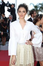 CAMILLE LAVABRE at Ash is Purest White Premiere at Cannes Film Festival 05/11/2018