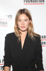 CAMILLE ROWE at Gordon Parks Foundation Annual Awards Dinner in New York 05/22/2018