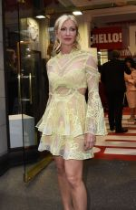 CAPRICE BOURRET at Hello! Magazine x Dover Street Market 30th Anniversary Party in London 05/09/2018