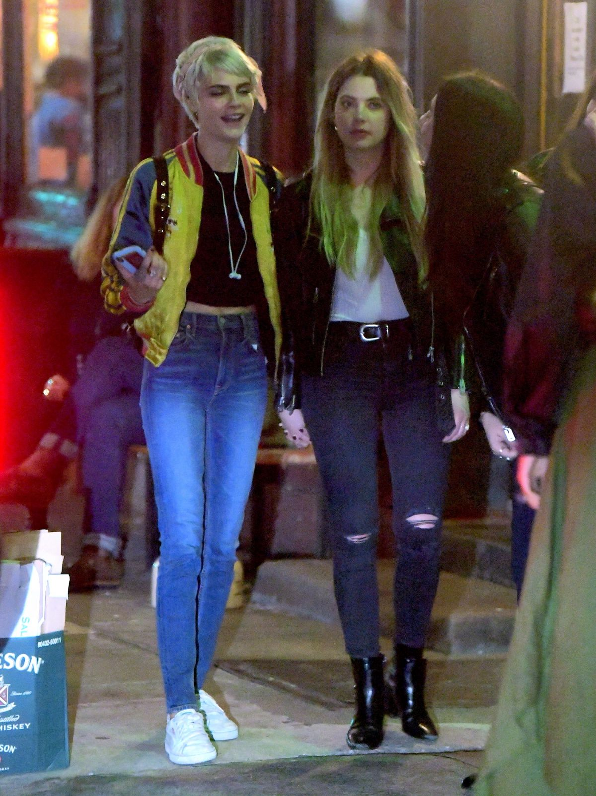 Cara Delevingne And Ashley Benson Leaves Lucky Strike In New York 05