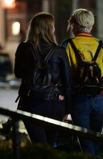 CARA DELEVINGNE and ASHLEY BENSON Leaves Lucky Strike in New York 05/17/2018