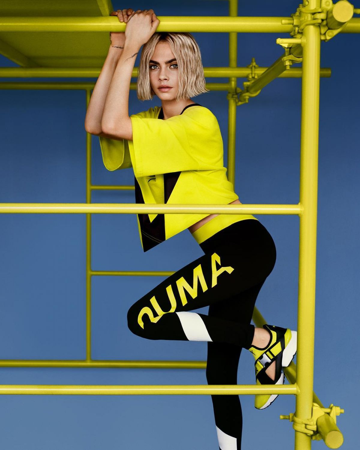 85210c002d11 CARA DELEVINGNE for Puma Muse Cut-out Sneaker 2018 Campaign - HawtCelebs