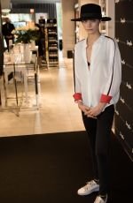 CARA DELEVINGNE Presents New Douglas Campaign in Berlin 05/30/2018