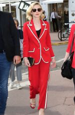 CAREY MULLIGAN Out at 2018 Cannes Film Festival 05/09/2018
