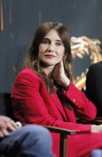 CARICE VAN HOUTEN at Game of Thrones Press Conference in Paris 05/31/2018