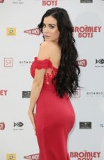 CARLA HOWE at Bromley Boys Premiere in London 05/24/2018