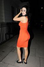 CARLA HOWE Night Out in London 05/07/2018