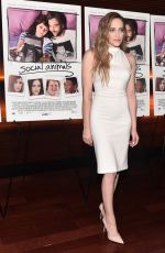 CARLY CHAIKIN at Social Animals Premiere in Los Angeles 05/30/2018