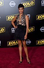 CARLY HUGHES at Solo: A Star Wars Story Premiere in Los Angeles 05/10/2018