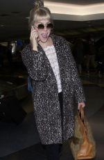 CARLY RAE JEPSEN Arrives at Los Angeles International Airport 05/20/2018