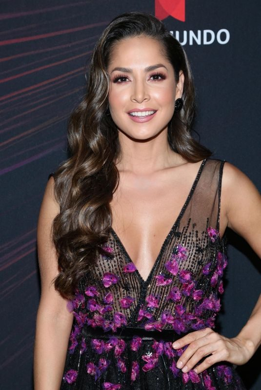CARMEN VILLALOBOS at Telemundo Upfront in New York 05/14/2018