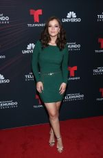 CAROLINA MIRANDA at Telemundo Upfront in New York 05/14/2018