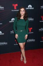CAROLINA MIRANDA at Telemundo Upfront in New York 05/14/2018