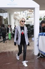 CAROLINE DAUR at Hotel Martinez in Cannes 05/14/2018
