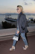CAROLINE DAUR Out on Croisette in Cannes 05/11/2018