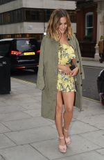 CAROLINE FLACK Arrives at Her River Island Cocktail Party in London 05/24/2018