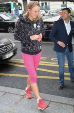 CAROLINE WOZNIACKI Leaves Her Hotel in Paris 05/29/2018