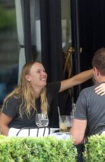 CAROLINE WOZNIACKI Out for Lunch in Paris 05/27/2018
