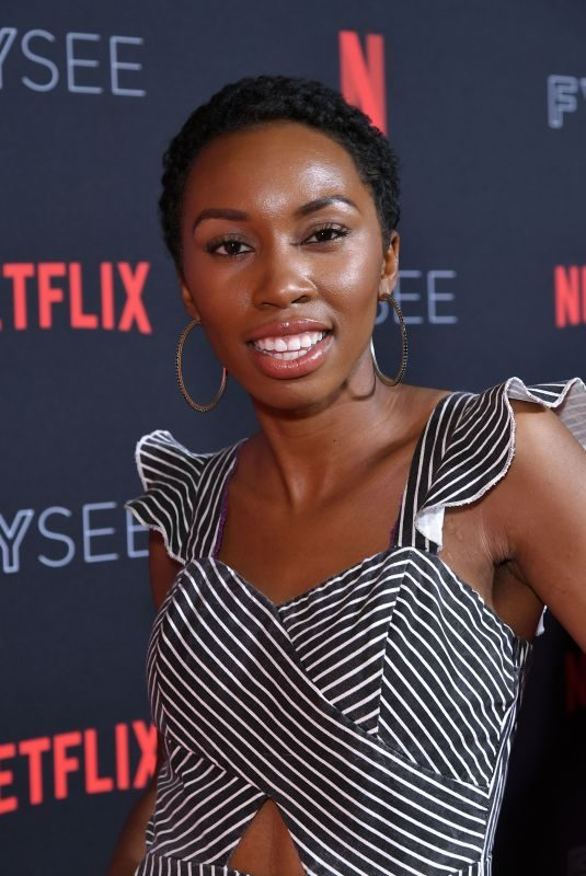 CARRIE BERNANS at Netflix FYSee Kick-off Event in Los Angeles 05/06/2018
