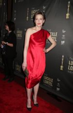 CARRIE COON at 2018 Lucille Lortel Awards in New York 05/06/2018