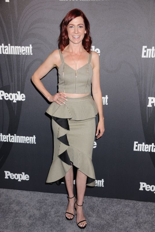 CARRIE PRESTON at EW & People New York Upfronts Celebration 05/14/2018