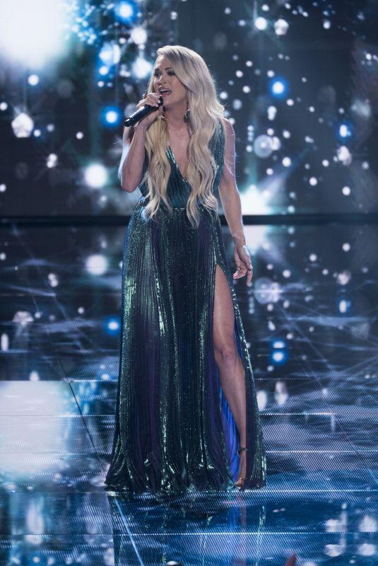 CARRIE UNDERWOOD Performs at American Idol in Los Angeles 05/13/2018
