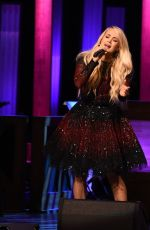 CARRIE UNDERWOOD Performs at Grand Ole Opry in Nashville 05/11/2018