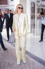 CATE BLANCHETT Arrives at Martinez Hotel in Cannes 05/07/2018