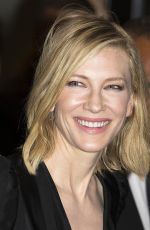 CATE BLANCHETT at Chanel x Vanity Fair Party at Cannes Film Festival 05/09/2018