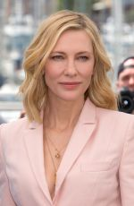 CATE BLANCHETT at Jury Photocall at 71st Cannes Film Festival 05/08/2018