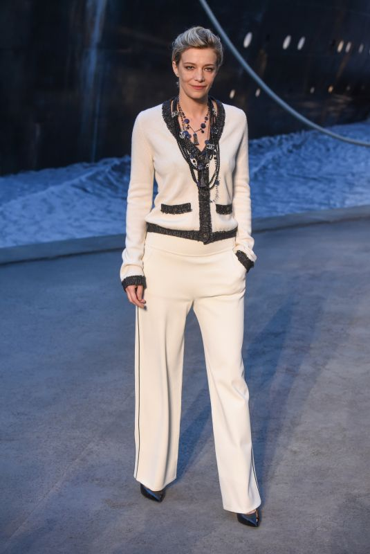 CELINE SALLETTE at Chanel Cruise 2018/2019 Collection Launch in Paris 05/03/2018