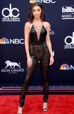 CHANTEL JEFFRIES at Billboard Music Awards in Las Vegas 05/20/2018