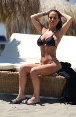 CHANTELLE CONNELLY in Bikini at a Beac in Gran Canaria 05/03/2018