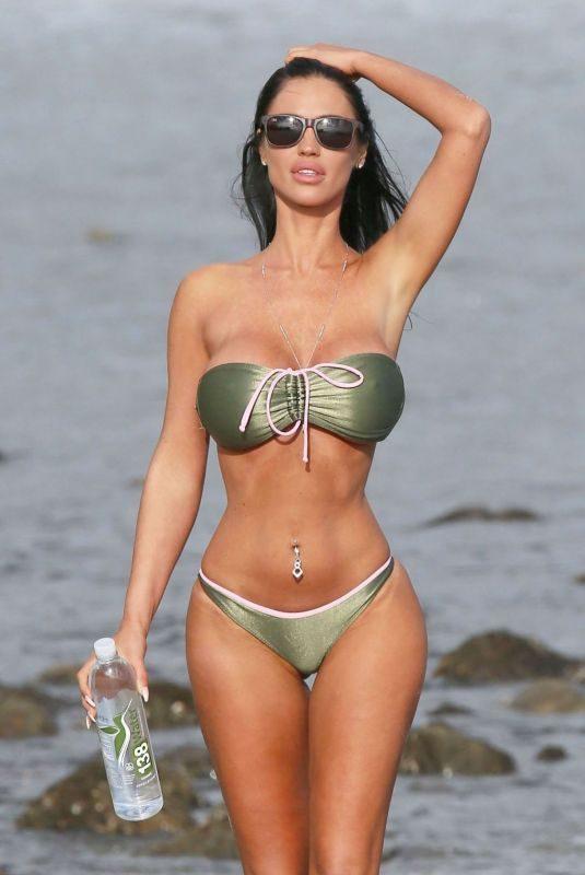 CHARLIE RIINA in Bikini for 138 Water Photoshoot in Malibu 05/27/2018