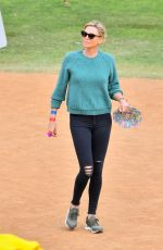 CHARLIZE THERON at a School Event in Studio City 05/12/2018