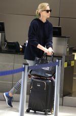 CHARLIZE THERON at Los Angeles International Airport 05/30/2018